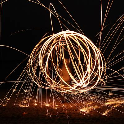 Feuer - Lightpainting